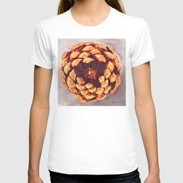 Protected, Macro Pine Cone Painting T-shirt