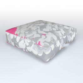 Bubblegum Outdoor Floor Cushion