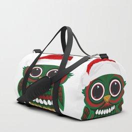 Christmas Owl Duffle Bag