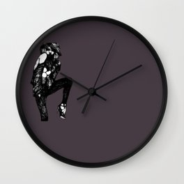 One-Line Series | Prancing Wall Clock
