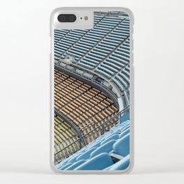 Stadium Seating Clear iPhone Case