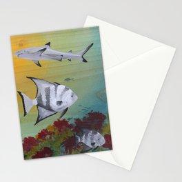 Nervous Neighbors Stationery Cards
