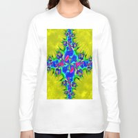 letters Long Sleeve T-shirts featuring Love Letters by Brian Raggatt
