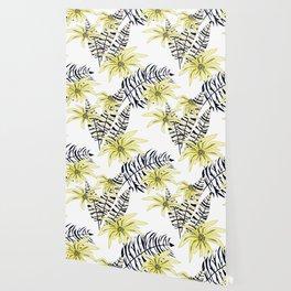 Flower exotic. Wallpaper