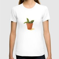 plant T-shirts featuring Plant by Shelley Chandelier