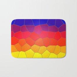 Coloured Mosaic Bath Mat