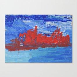 French Riveria Canvas Print
