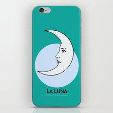 La Luna Mexican Loteria Card iPhone Skin