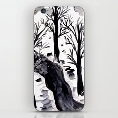 Black Crystall Frost iPhone & iPod Skin