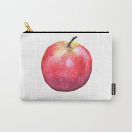 Watercolor Panting of a Red Apple Carry-All Pouch