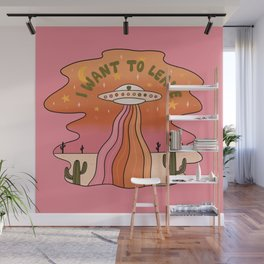 I Want To Leave Wall Mural