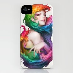 Angel of Colors iPhone (4, 4s) Slim Case