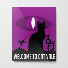 Cat Vale Metal Print
