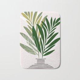 Olive Branches / Contemporary Botanical Art Bath Mat