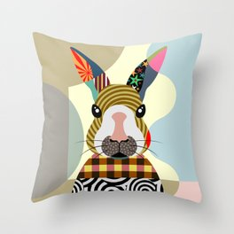 Sexy Bunny Throw Pillow