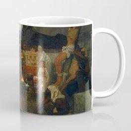 Henryk Siemiradzki - Martyrdom of Saints Timothy and Maura Coffee Mug