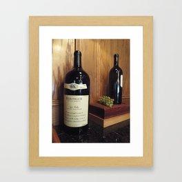 The Biggest Bottle Framed Art Print