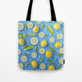 Fruits and leaves pattern (32) Tote Bag