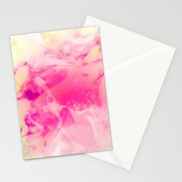 Mixed Pastel Marble Design Stationery Cards