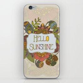 Hello Sunshine iPhone Skin
