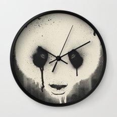 PANDA STARE Wall Clock