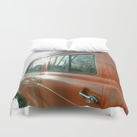 ford Duvet Covers featuring Thats Ford by Ars Infinity - @ Roland Zulehner