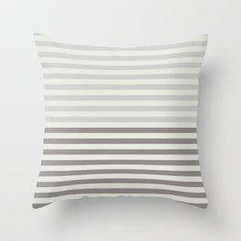 Minimal Half Stripes Throw Pillow