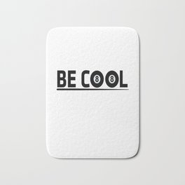 Billiards Cool Quote Bath Mat