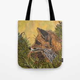 Ferny Fox Tote Bag