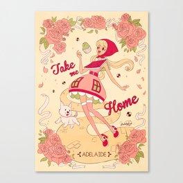 Take me Home - Adelaide Canvas Print