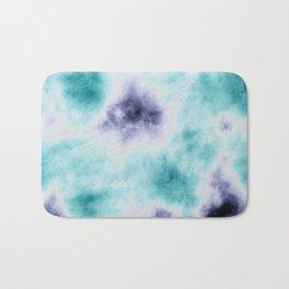 ocean tie dye Bath Mat
