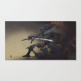 Sandbot Canvas Print