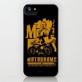 MOTODROME  iPhone Case