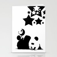 sleep Stationery Cards featuring Sleep by Panda Cool