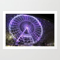 Colorful Eye Art Print