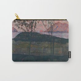 Egon Schiele - Setting Sun Carry-All Pouch