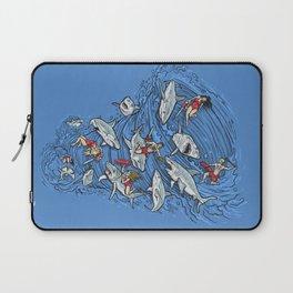 Malibu Beach Sharnado Massacre  Laptop Sleeve