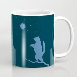 Sleepwalker. Cat illustration Coffee Mug