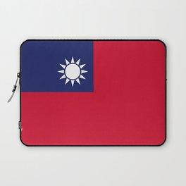 Taiwan flag emblem Laptop Sleeve
