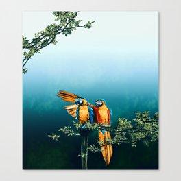 Papagaios Canvas Print