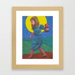 Honky Tonk Angel Framed Art Print