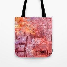Al Capone's Vibrant Acrylic Cell Tote Bag