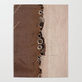rotated rustic roof Poster