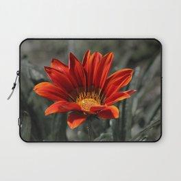 Red Gazania Flower Laptop Sleeve