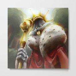 The bunny king Metal Print