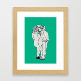 series-kiss Framed Art Print