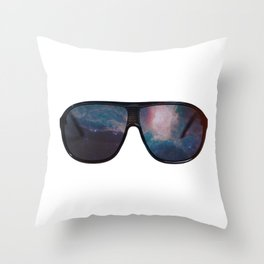 """Space Shades"" Throw Pillow"