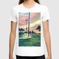 urban T-shirts featuring Urban // Slowtown by Samantha Crepeau