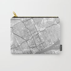 Detroit Map Line Carry-All Pouch
