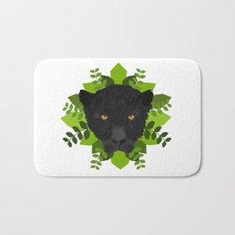 Black Panther Bath Mat